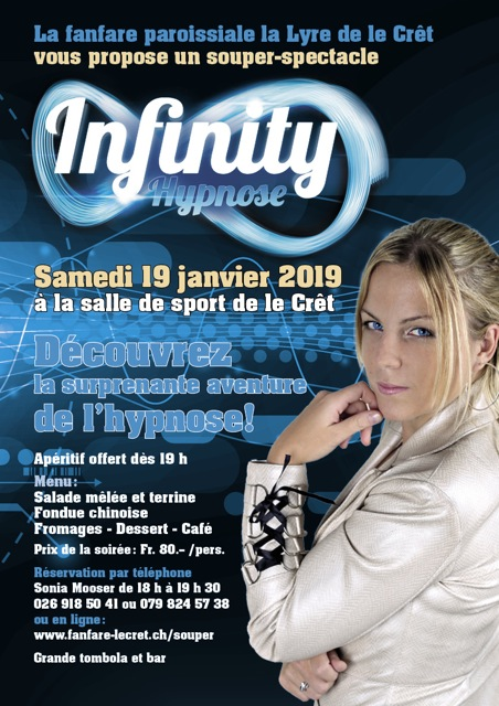 Flyer Infinity Hypnose